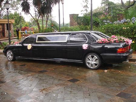 Botswana Wedding Limo Or Car Hire